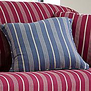 grainsack stripe decorative pillow by sure fit