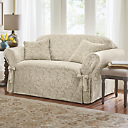 Scroll Slipcover and Decorative Pillow by Sure Fit