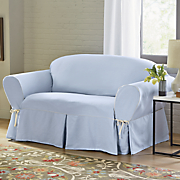 Cotton Corded Slipcover by Sure Fit
