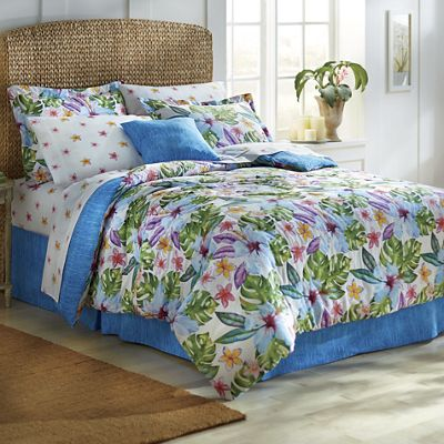 Kauai complete bed set and matching accessories from for Matching bedroom and bathroom sets