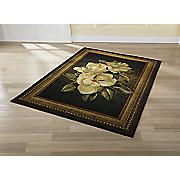 magnolia frame rug