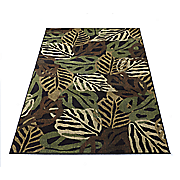 golden coast botanical rug