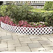 lattice garden fence 89