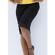 in love lace pencil skirt