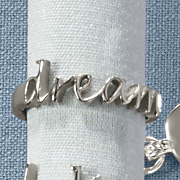 stainless steel dream ring