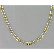 14k figaro necklace