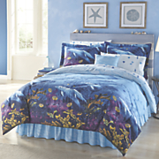 Dolphin Cove Complete Bed Set, Accent Pillow and Window Treatments