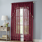 Emelia Embroidered Window Treatments