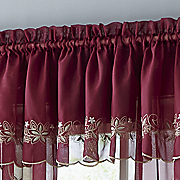 emelia embroidered valance