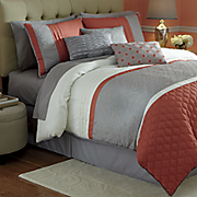 lyons 7 pc  bed set and window treatments