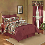 Color Connection® Toucan 6-Piece Bed Set, Panel Pair and Valance by Montgomery Ward