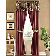 color connection toucan panel pair and valance by montgomery ward