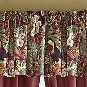 color connection toucan valance by montgomery ward
