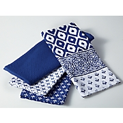set of 4 assorted oversized towels