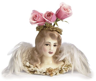 Lady Selina Angel Vase