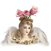 lady selina angel vase