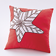 key west square decorative pillow