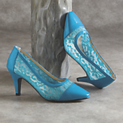 haseen lace pump