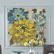 Floral Printed Canvas