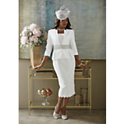 jamaria hat and sharla skirt suit