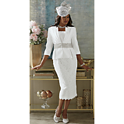 Jamaria Hat and Sharla Skirt Suit