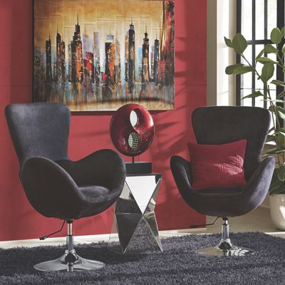 Large Orb Swivel Chair