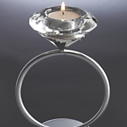 diamond solitaire tealight candleholder