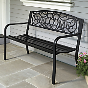 Welcome Bench