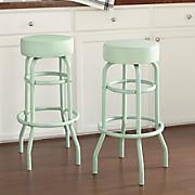 set of 2 bar height stools