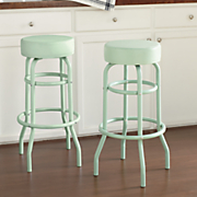set of 2 bar height stools