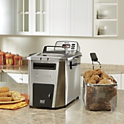dual zone deep fryer by delonghi