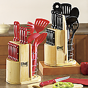 Chef Tested® 19-Piece Cutlery and Prep Set by Montgomery Ward®
