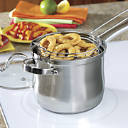 4 qt  stovetop deep fryer set by oster