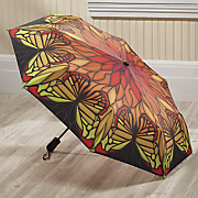 stained glass butterfly umbrella