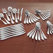 45-Piece La Plume Flatware Set by Cuisinart