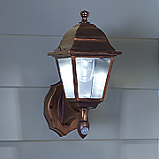 Battery-Operated Motion-Activated Wall Sconce