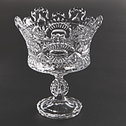 royalty footed candy dish