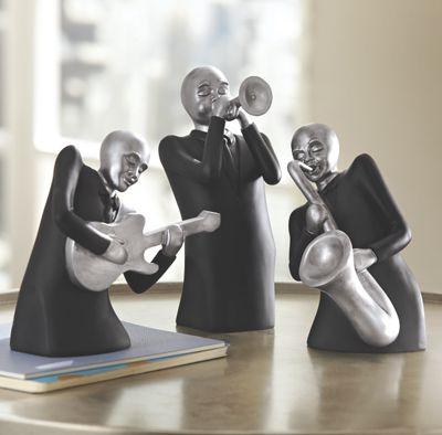 Set of 3 Jazz Men Players