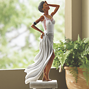 Diva White Figurine