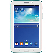 "7"" Blue-Green Galaxy Tab 3 Lite by Samsung"