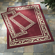 3 pc  laurel indoor outdoor rug set