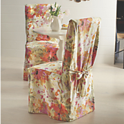fancy floral chair cover