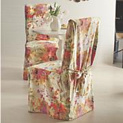 cubierta de la silla floral fantasía