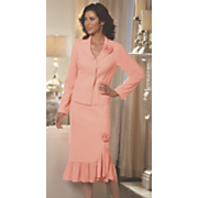 Clarissa Rose Ruffle Skirt Suit