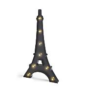 led lit eiffel tower