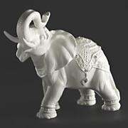 ceramic jeweled elephant