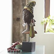 African Lady Head