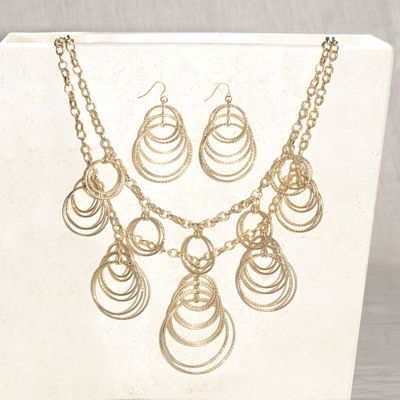 Rings Necklace & Earring Set