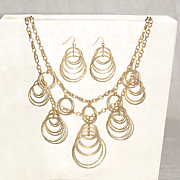 rings necklace   earring set