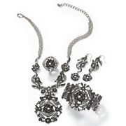 rose crystal jewelry